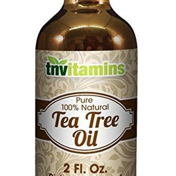 Pure Australian Tea Tree Oil - 2 Fl. Oz.