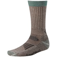 Smartwool Hunt Light Crew Sock - Large - Taupe