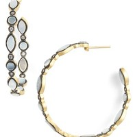 Women's Freida Rothman 'Metropolitan' Inside Out Hoop Earrings