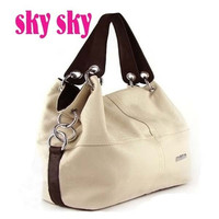 HotSale New Korean Style Lady Hobo genuine Leather Handbag Shoulder Bag Fashion Perfect wholesal  SK152 = 1931650692