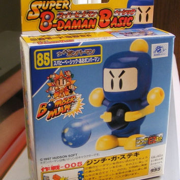 Takara 1997 Hudson Soft B-Daman Bomberman No 85 Model Kit Action Figure