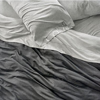 'Modern Cotton Collection' Cotton & Modal Fitted Sheet