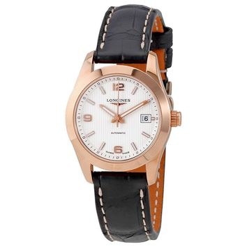 Longines Conquest Classic Silver Dial Automatic Ladies Watch L22858763