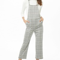 Glen Plaid Overalls