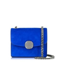 Marc Jacobs Designer Handbags Electric Blue Suede Mini Trouble Shoulder Bag