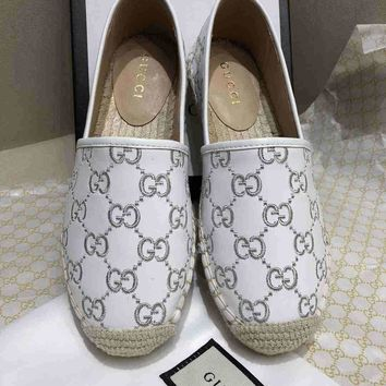 Gucci Women Casual Shoes leather-boots fashionable casual leather Women Heels Sandal Shoes