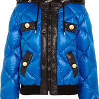 Moschino - Quilted shell coat