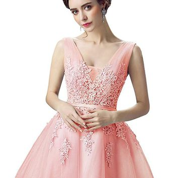 Short Homecoming Dress Corset Back Prom Cocktail