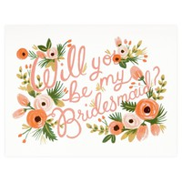 Will You Be My Bridesmaid Single Card or Boxed Set