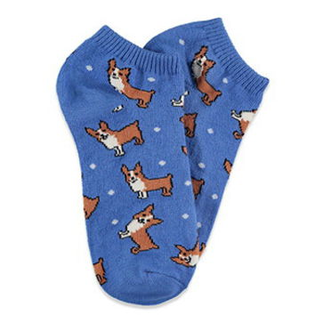 Corgi Ankle Socks