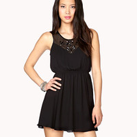 Embellished Georgette Dress