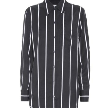Bradner striped twill shirt