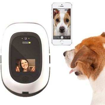 PetChatz HD: Two-Way Audio/Video Pet Treat Camera w/ DOGTV, Recording, Scents, and Motion/Sound Detection