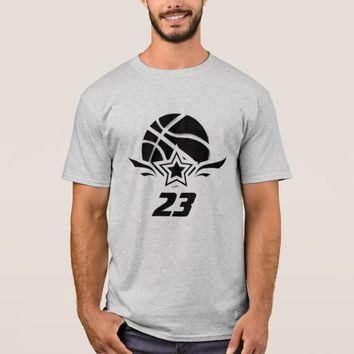 Men's 23 Basketball Basic T-Shirt