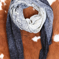 Stardust Ombre Scarf, Blue