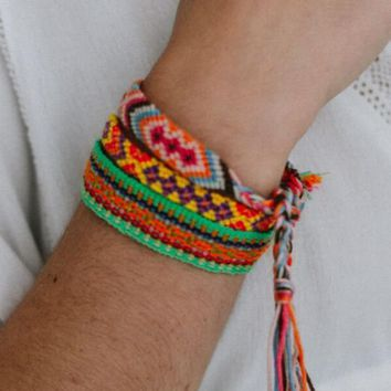 Half United Friendship Bracelet Pack - Multi