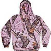 HOODED SWEATSHIRT PINK