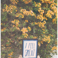 I Feel Great Banner