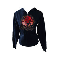 Lowbrow Art Company Busy Living Womens Hoodie by Artist Whitney Lenox