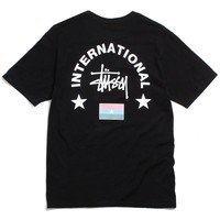 International Arc T-Shirt Black