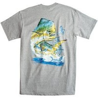 Mens Costa Del Mar Carey Chen Dolphin Tee