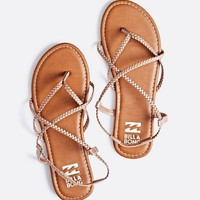 Billabong - Crossing Over Sandals | Rose Gold