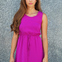 Plum Perfect Dress