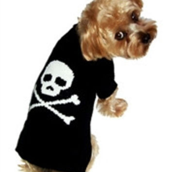 Jolly Roger Sweater Plain and with Bow