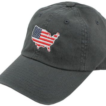 America Traditional Hat in Charcoal by State Traditions