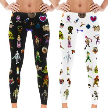 Ocarina of Time Leggings from No Face Neko
