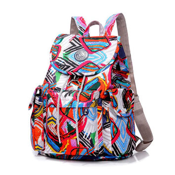 New Women Backpack Fashion Backpacks for Teenage Girls Waterproof Nylon Backpack school bags mochila sac a dos