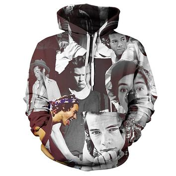Harry Styles One Direction Paparazzi Hoodie