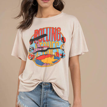 Daydreamer Los Angeles Rolling Stones Around The World Tee