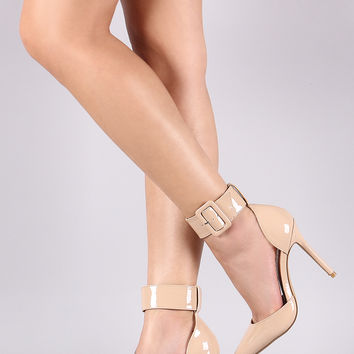 Ankle Cuff Stiletto Pump | UrbanOG