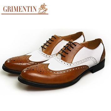 oxford men shoes genuine leather black male shoes