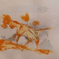 Saatchi Art: The wandering cat Drawing by Frederic Belaubre