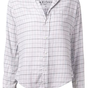 Frank & Eileen 'Barry' plaid shirt