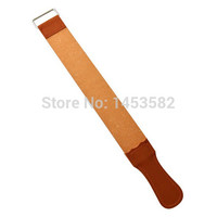 Leather Sharpening Strop For Barber Straight Razor Fold Knife Sharpening Shave