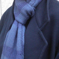 BBC Sherlock Holmes Inspired Hand Knitted Scarf