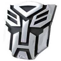 Qiyun Transformers Autobots Logo 3D Car Hood Ornament / Decal