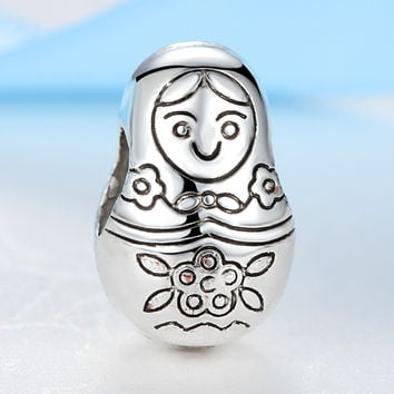 Free Shipping Alloy Bead With Lovely Silver Baby Diy Beads Charms Fit Women Diy Pandora Bracelets & Bangles Jewelry YW15084