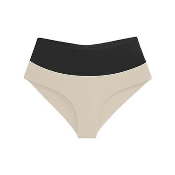 MAYLANA Bianca Black Beige Bottom