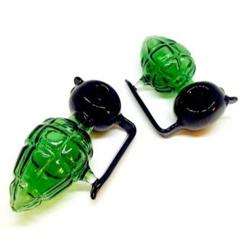 Grenade Glass Pipe