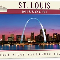 St. Louis Missouri - 1000 Piece Jigsaw Puzzle