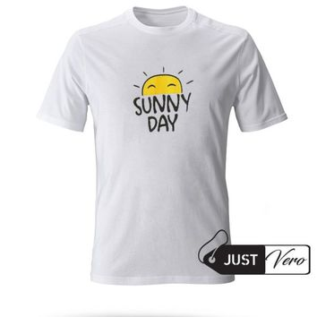 Sunny Day T shirt size XS - 5XL unisex for men and women