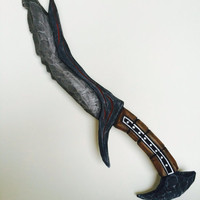 Daedric Dagger fully painted