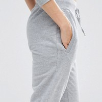 ASOS Marl Joggers with Stepped Hem at asos.com