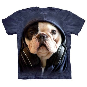 The Mountain Human T-Shirt - DJ Manny the Frenchie