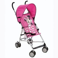 Disney Umbrella Stroller with Canopy, Bye Bye Minnie