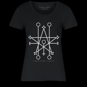 DEMONS ARE COMING SIGIL | WOMENS TEE